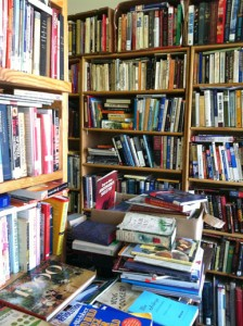 Jersey City Free Books -- stop by to pick up a book or donate yours for others to use and enjoy.