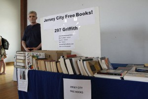 Jersey City Free Books at the Jersey City Peace Fest 06-29-13