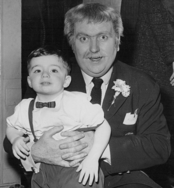 Anthony Olszewski of Jersey City Free Books meets Captain Kangaroo