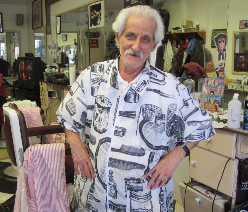Joe the barber, Jersey City Free Books' landlord